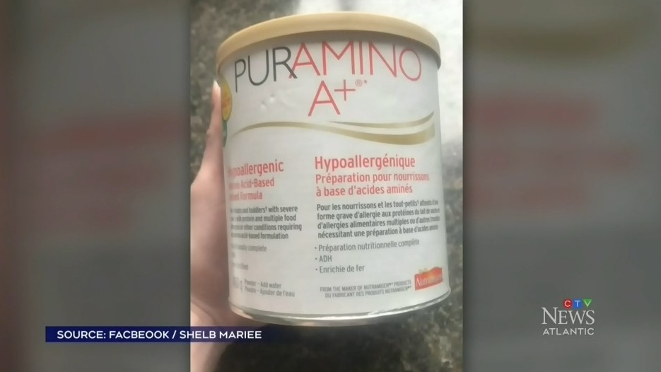 Shelby Millen is searching for a formula called PURAMINO, the only kind her son can consume.