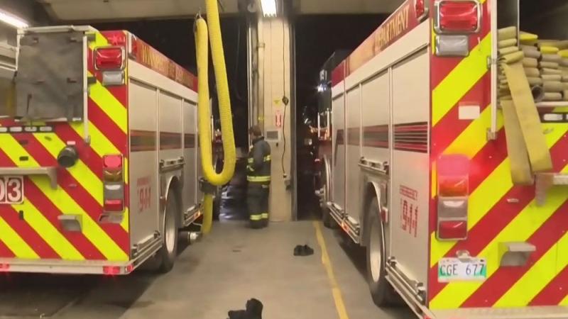 Fire halls