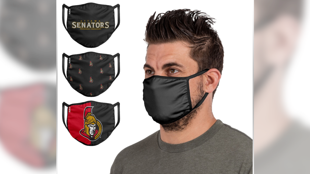 Proceeds from Senators-branded face masks to go to Food Banks Canada