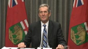 Premier Brian Pallister (file image)