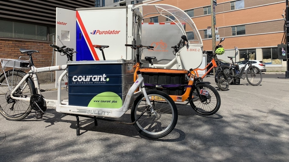 Delivery service available in Montreal