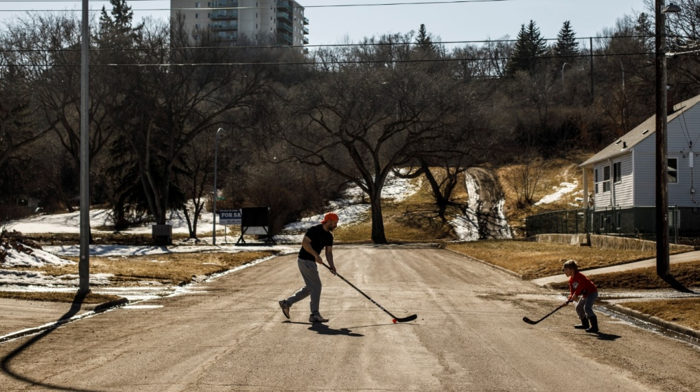 COVID-19 Edmonton Street Hockey