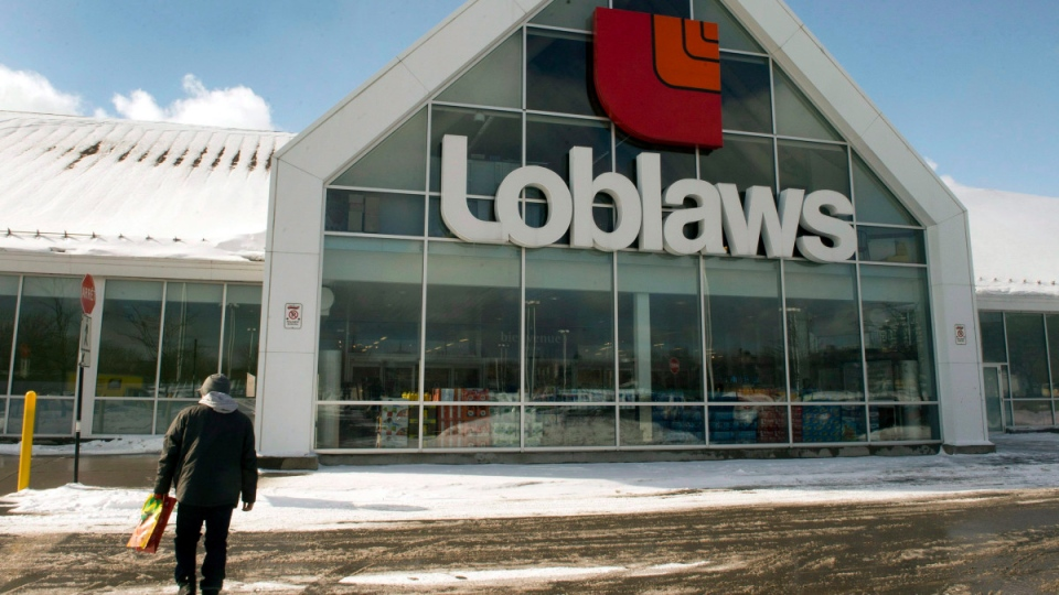 A Loblaws store in Montreal