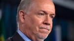 B.C. Premier John Horgan is seen in this undated file image.