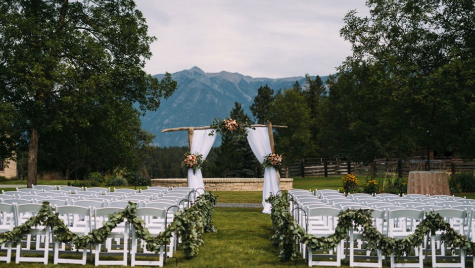 Cherry Creek Estates, a B.C. venue, has reportedly told couples who scheduled weddings this summer they will forfeit their deposit if they don't go along with the company's COVID-19 plan. (Cherry Creek Estates)