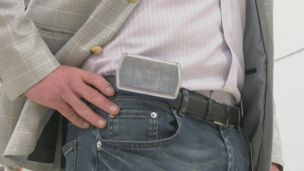 Montreal manufacturers develop a device to keep employees physically distanced - CTV News Montreal