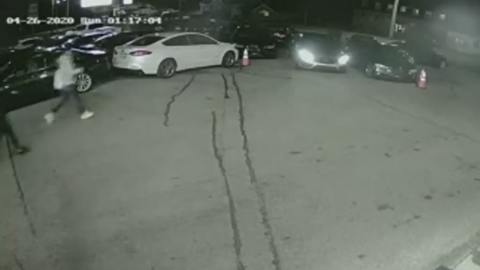 Dealership car thefts