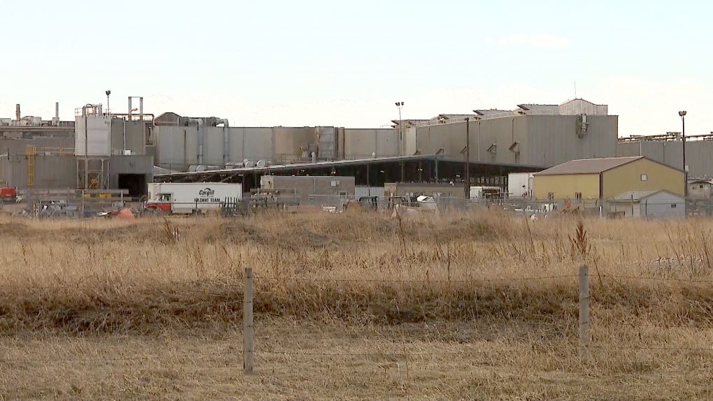 Cargill High River meat plant
