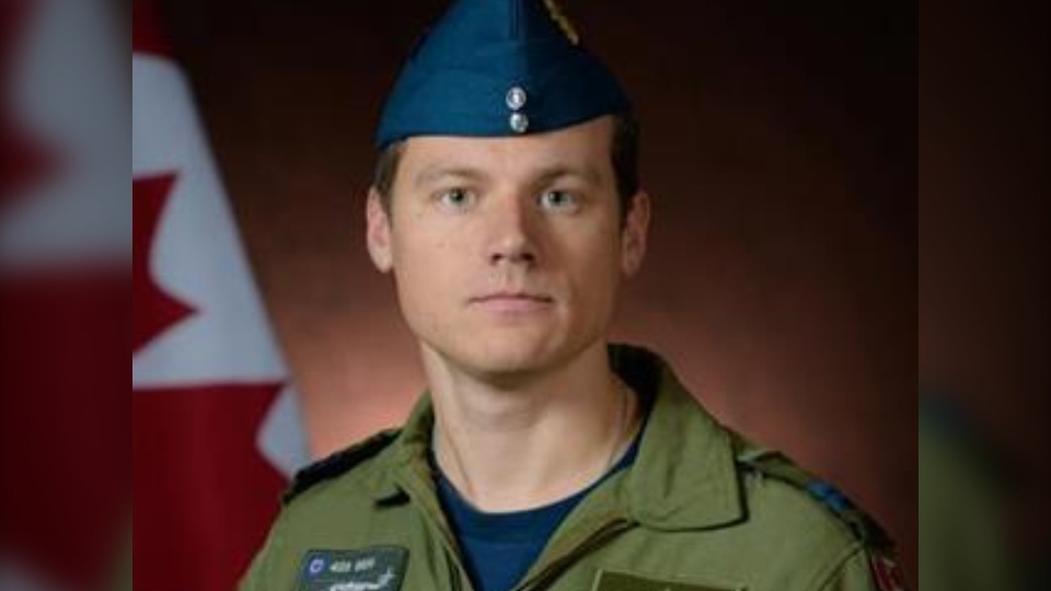Capt. Kevin Hagen of Nanaimo was one of six people aboard the RCAF CH-148 Cyclone helicopter when it went down in the Ionian Sea Wednesday evening. (DND)
