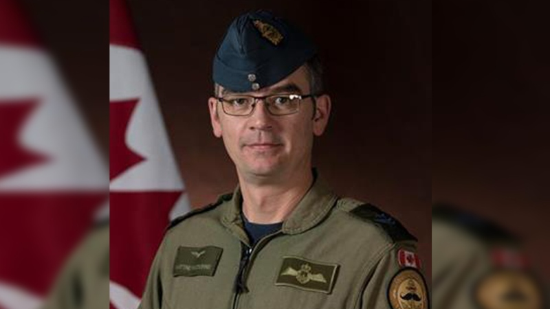 Master Cpl. Matthew Cousins seen here in this photo from the Department of National Defence.