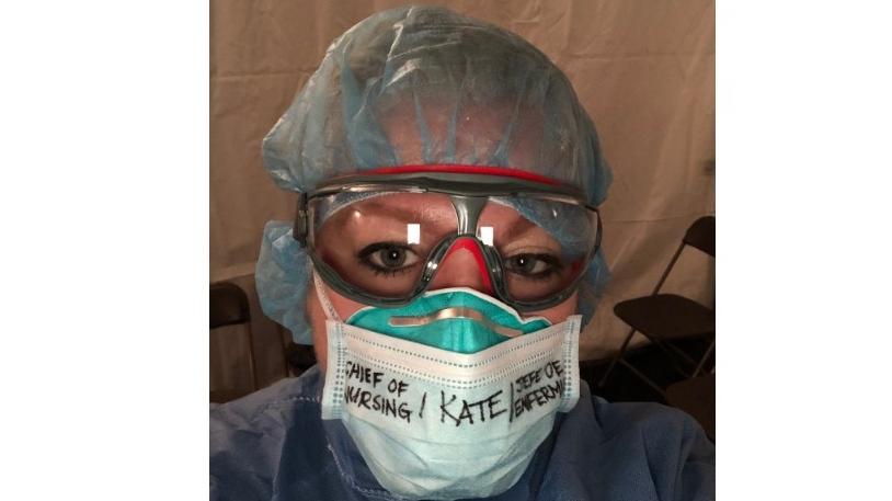 University of Windsor nursing professor Kate Kemplin. (Courtesy Kate Kemplin)