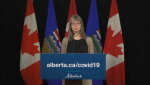 Dr. Deena Hinshaw gives the Alberta COVID-19 update for April 30.