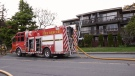 One man was sent to hospital for treatment of smoke inhalation after a fire in Esquimalt: (CTV News)