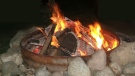 Generic image of a camp fire.