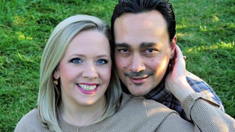 Melissa Mallioux and her husband James