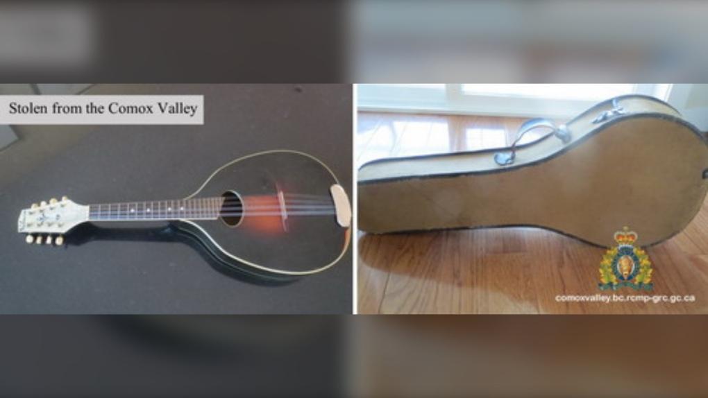 Stolen mandolin