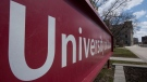 The University of Ottawa campus is quiet, Wednesday, April 22, 2020 in Ottawa. THE CANADIAN PRESS/Adrian Wyld