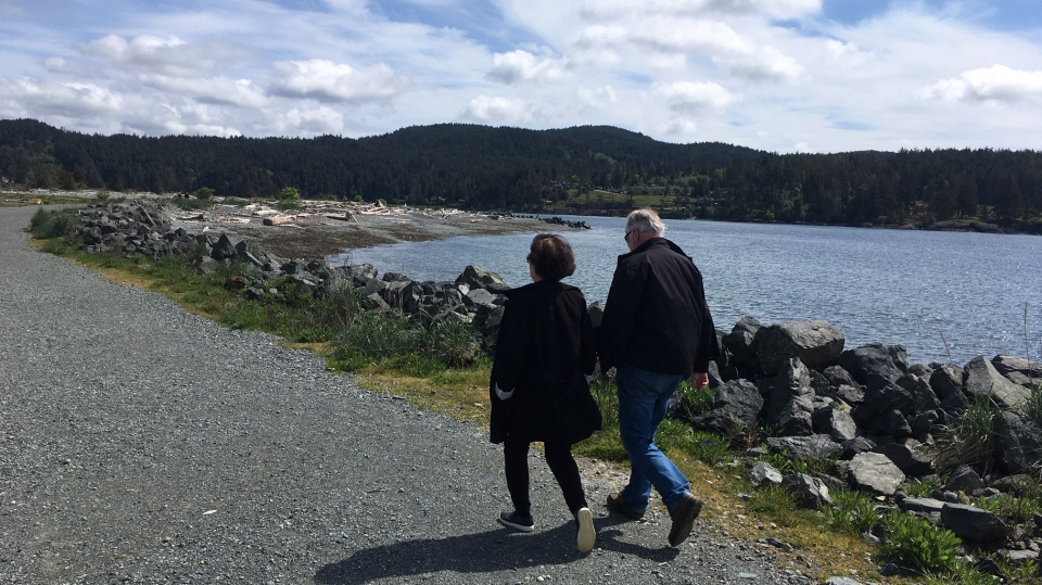The District of Sooke has reopened its local parks for community use amid the pandemic: May 1, 2020 (CTV News)
