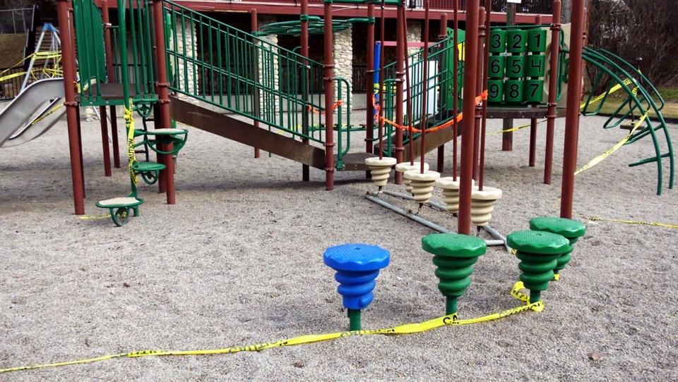 City playground