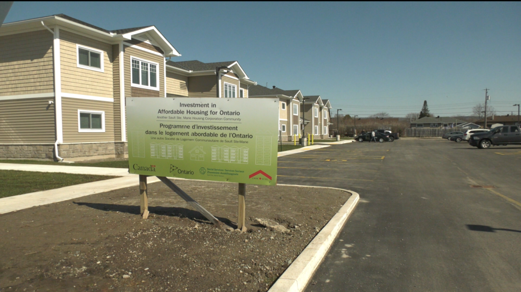 Housing units owned by the Sault's Housing Corp.