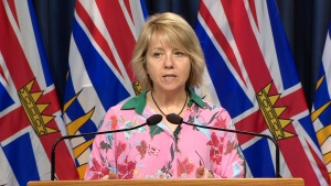 Provincial health officer Dr. Bonnie Henry will be joined by B.C. chief electoral officer Anton Boegman for the election announcement. (File photo)