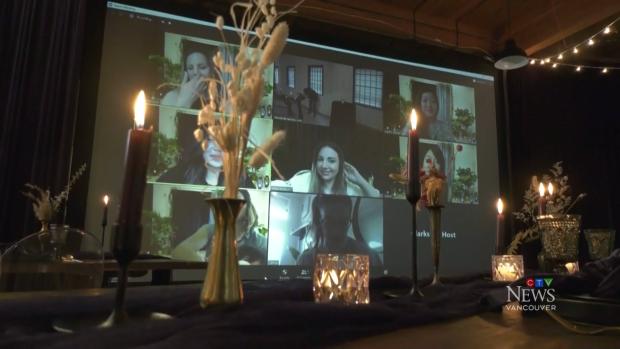 Corona news Burnaby company transforms showroom into virtual wedding studio for COVID-19 nuptials