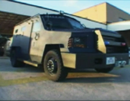 The Ottawa police services board approved the purchase of the LENCO G3 BearCat for high-risk situations, Monday, Sept. 28, 2009. Courtesy: policeone.com