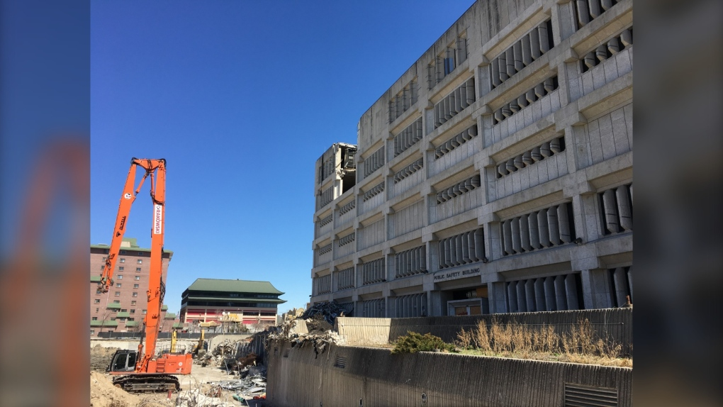 PSB Demolition