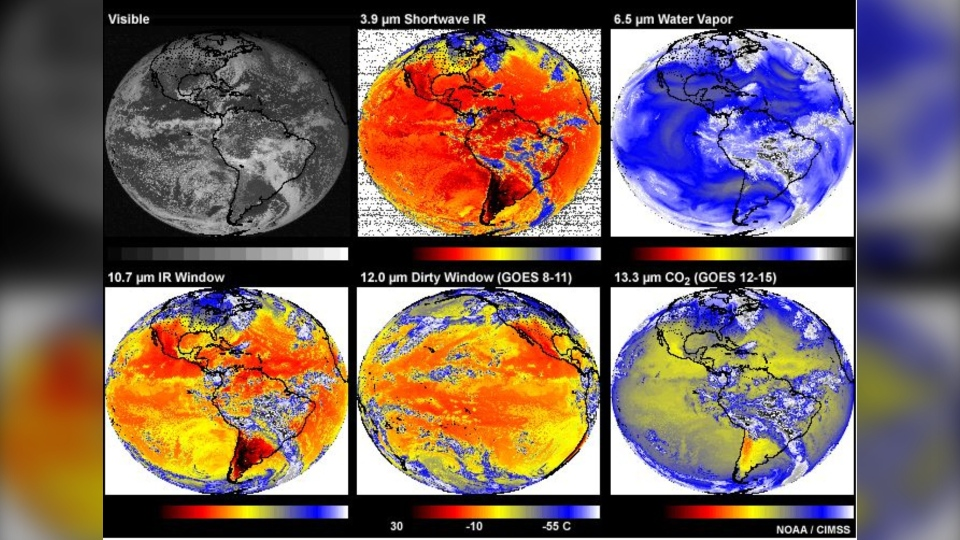 satellite weather observations