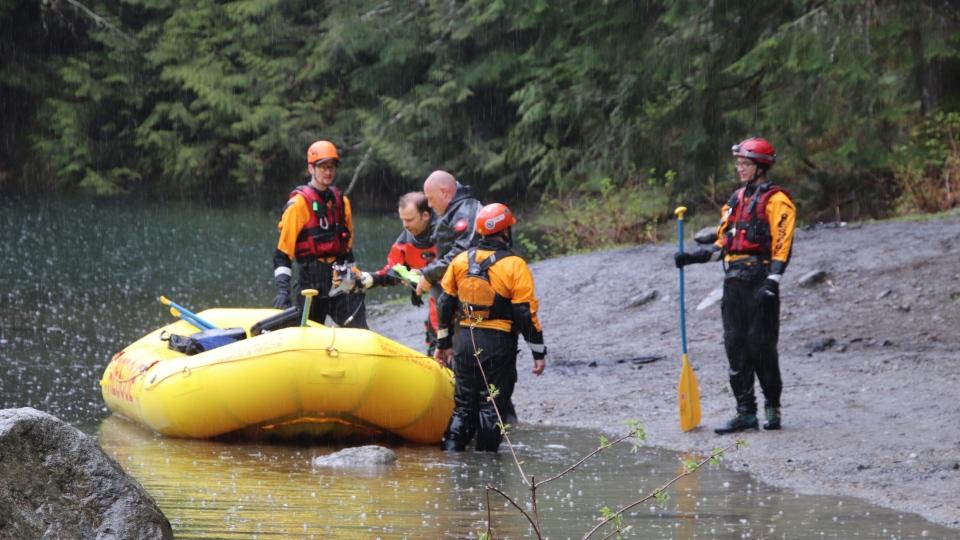 RCMP dive team Chilliwack
