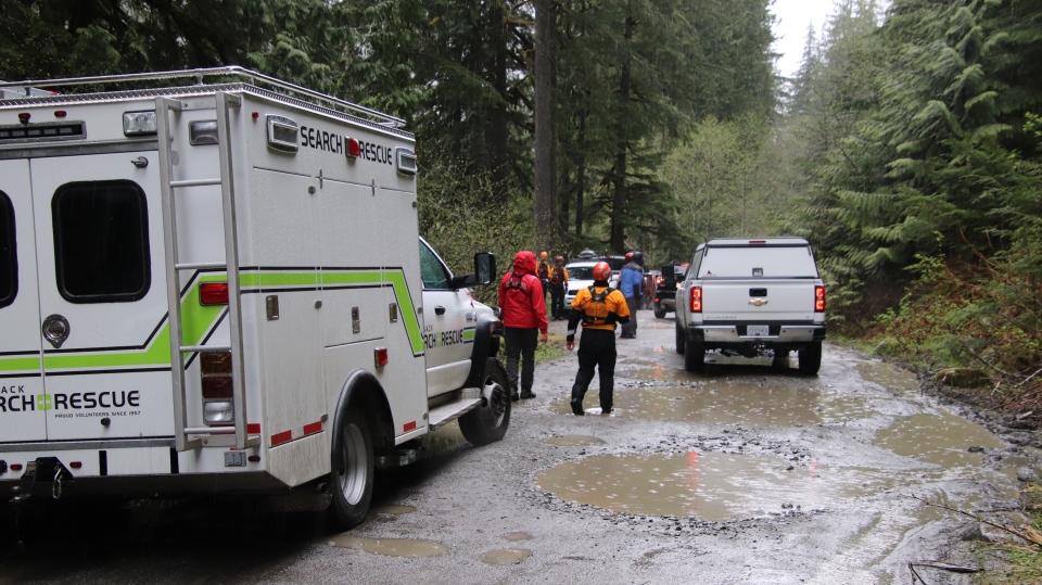 Foley Lake incident