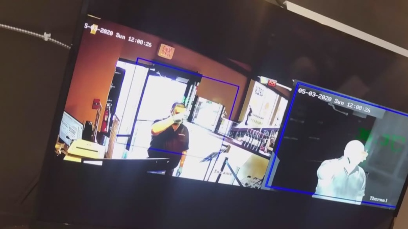 Vancouver liquor store using thermal cameras