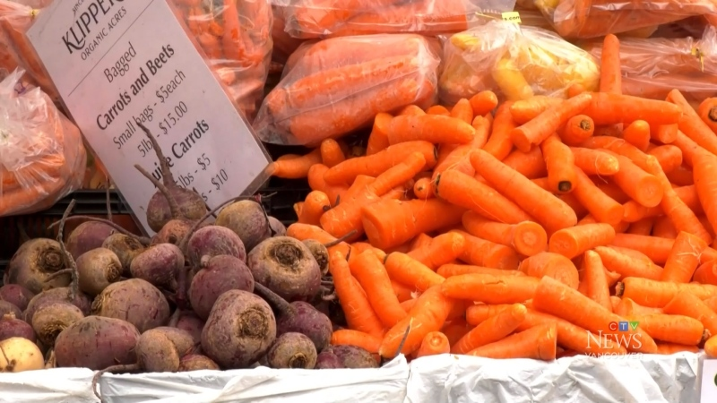 Vancouver farmers market reopens