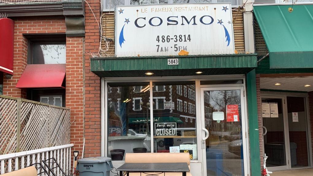 Cosmos snack bar