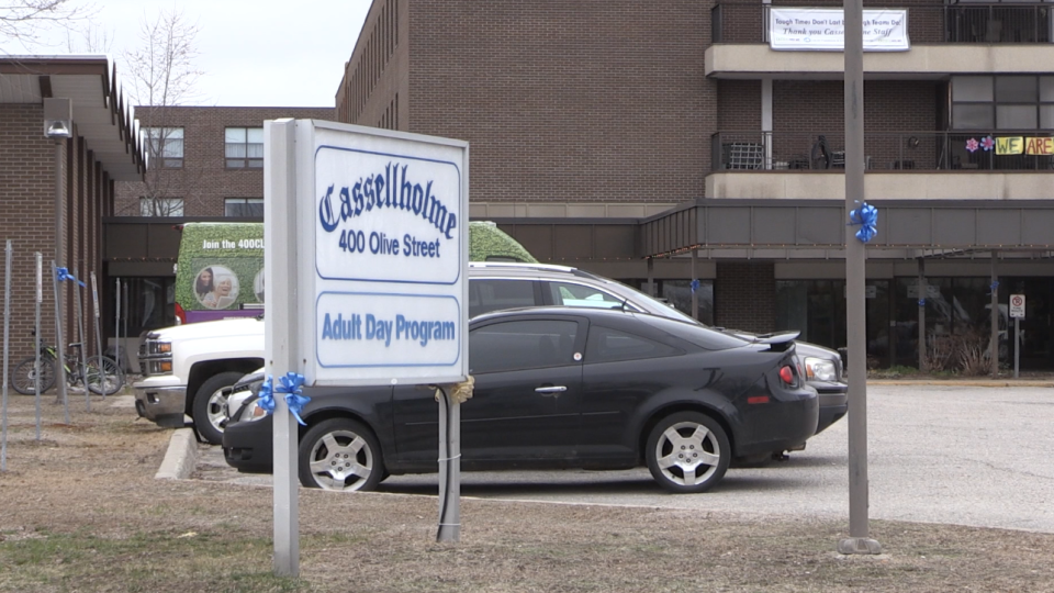 Cassellholme Home for the Aged in North Bay. May 4/20 (Lori-Anne Little/CTV Northern Ontario)