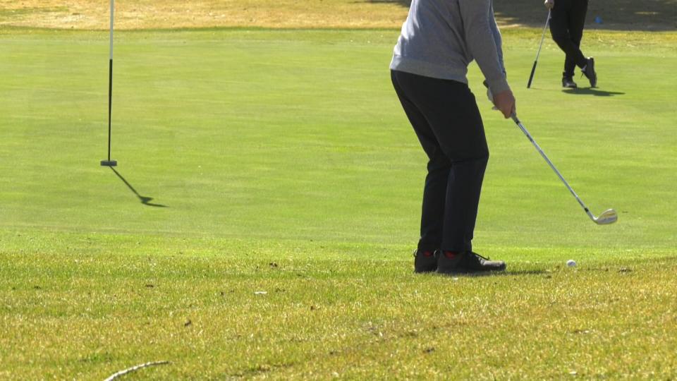 spring golfing