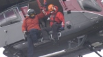 Campbell River Search and Rescue hoist team was called to the area of Nels Bight in Cape Scott Provincial Park. (CTV News)