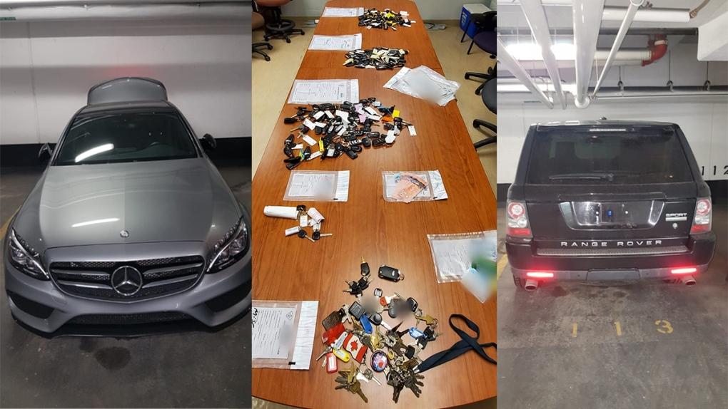 Stolen cars and stolen keys