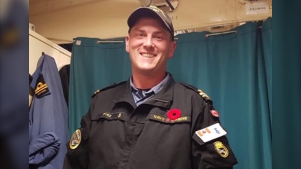 Sub-Lt. Matthew Pyke