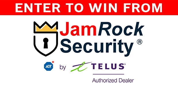 JamRock Security Giveaway Banner