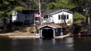 A cottage is seen in this undated file photo. (CTV News Toronto)
