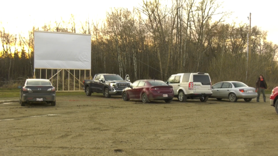 Drive-in movie theatre