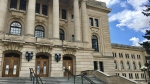 The Saskatchewan Legislative Building is seen in this file image. (Gareth Dillistone/CTV News)