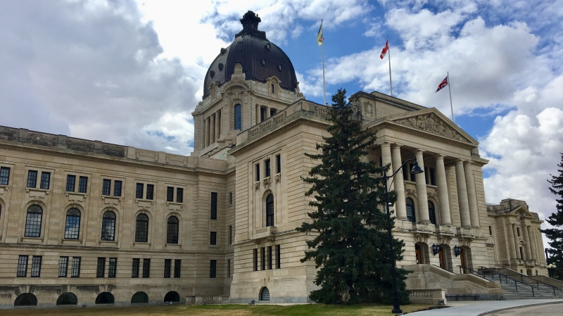 The Saskatchewan Legislative Building is seen in this file image. (CTV News/Gareth Dillistone)