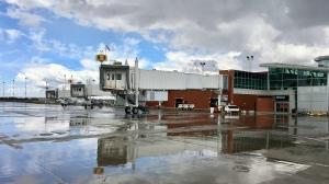 The Regina International Airport tarmac is seen in this file image. (Gareth Dillistone/CTV News)