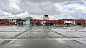 The Regina International Airport tarmac is seen in this file image. (Gareth Dillistone/CTV News)