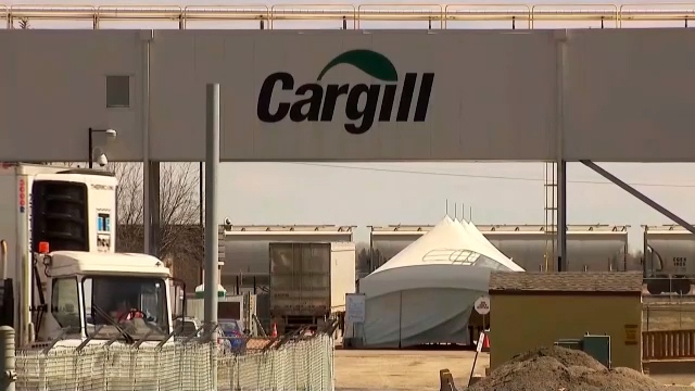 Cargill meat plant High River