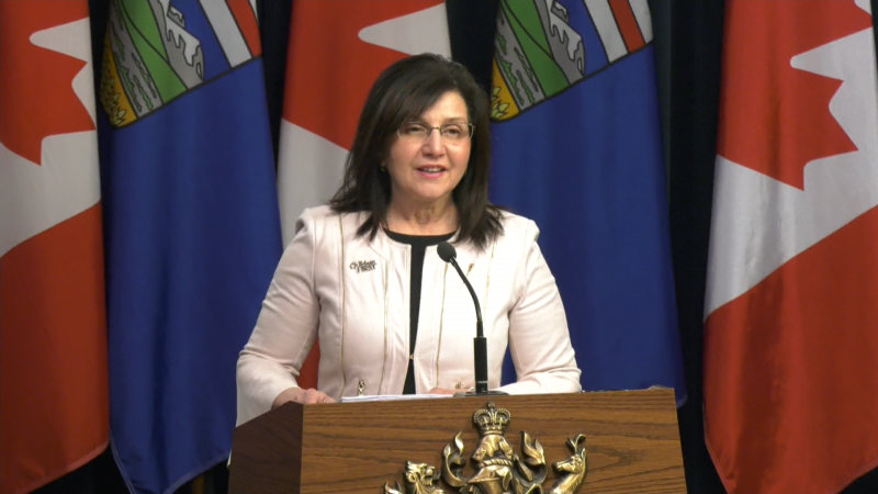Alberta Education Minister Adriana LaGrange will join Alberta Chief Medical Officer of Health Dr. Deena Hinshaw for an announcement on Wednesday afternoon. (File Photo)