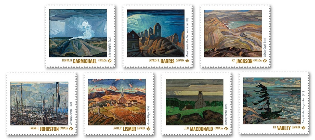 Group of Seven stamps