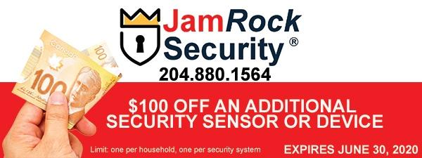 JamRock Security Giveaway Coupon